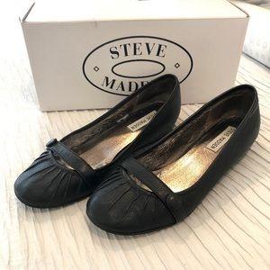Steve Madden Miraa leather ballerina flats